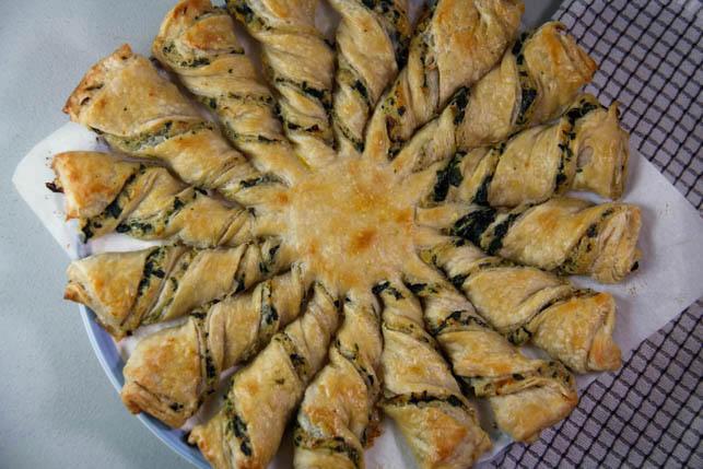 Spinach and Artichoke Tarte Soleil